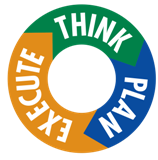 Think Plan Execute Logo